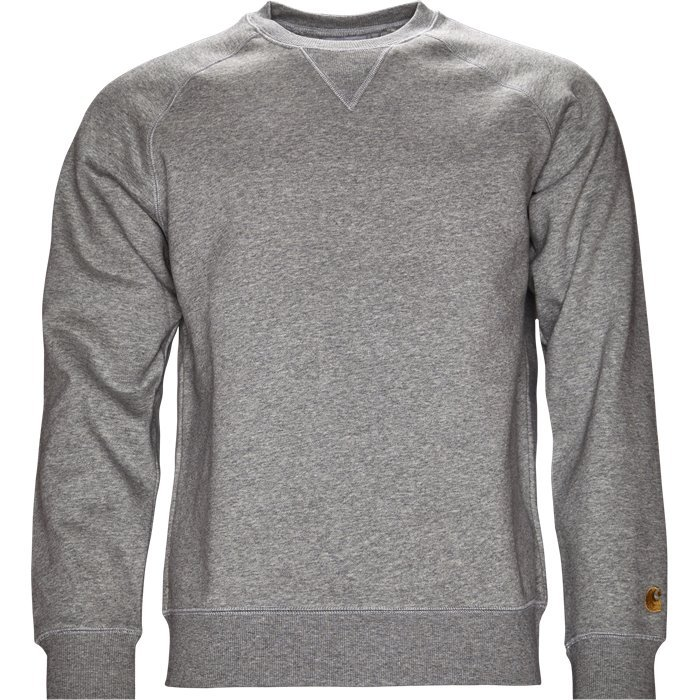 Chase Sweat - Sweatshirts - Regular - Grå
